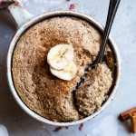 Easy Banana Bread In A Mug Cake Recipe Food Faith Fitness