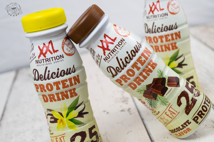 XXL Nutrition delicious protein drinks - optik