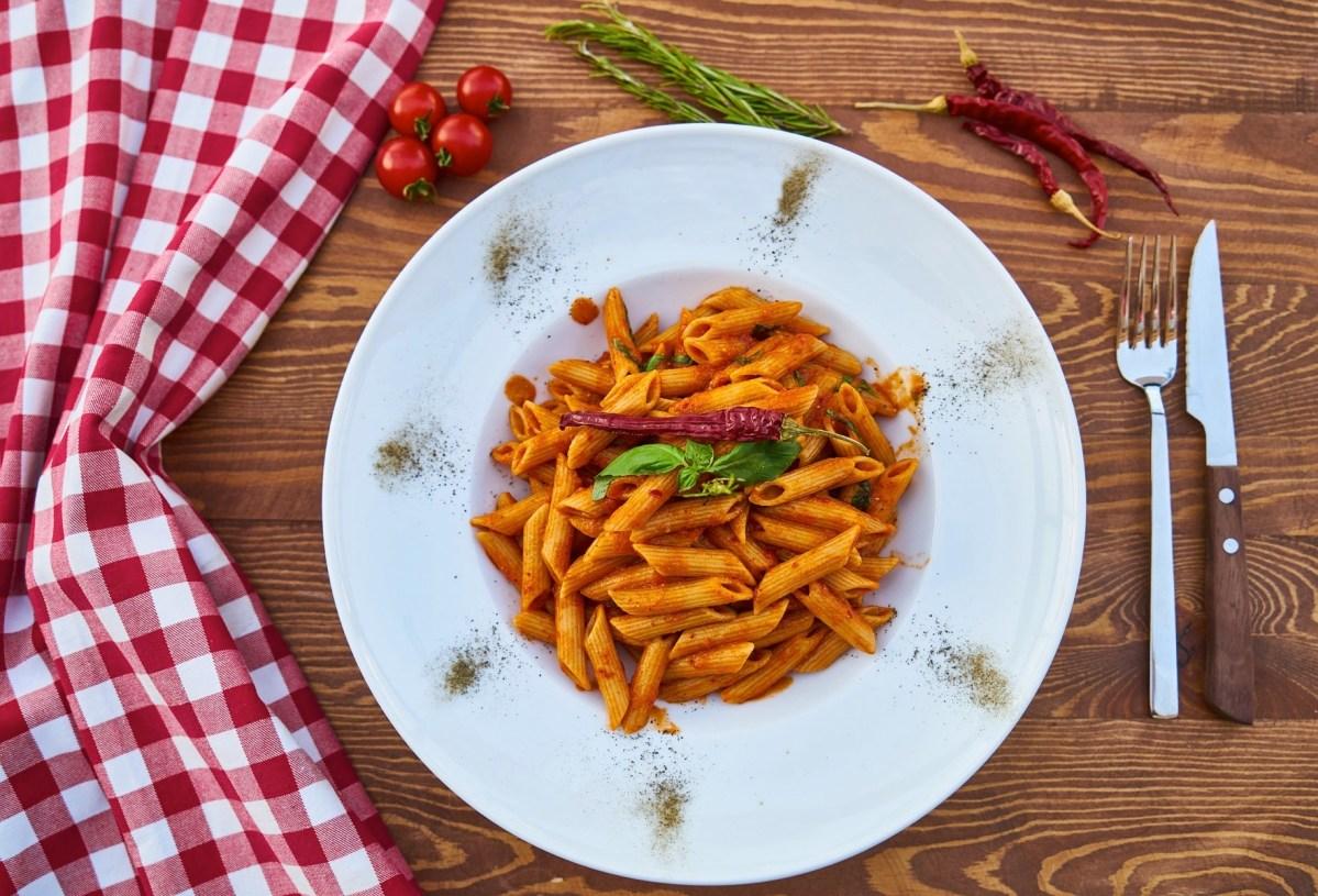 Пенне с овощами – ужин за полчаса