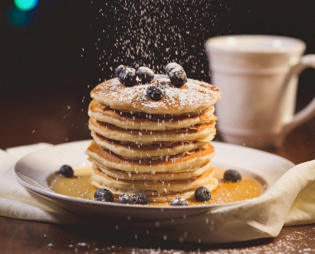Американские панкейки на завтрак