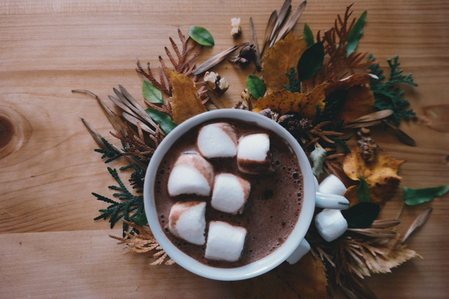 Согревающий горячий шоколад