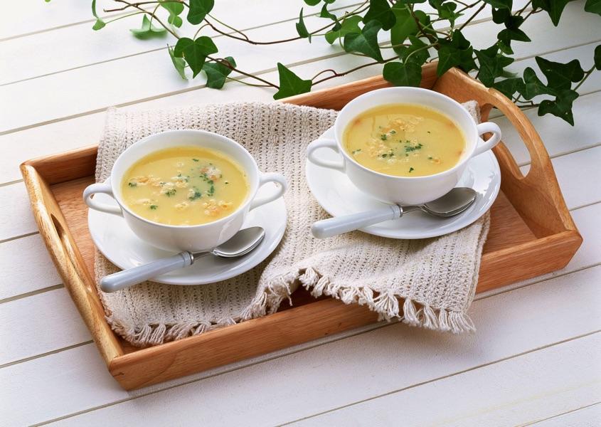 Сырный суп-пюре. Не так уж сложно!
