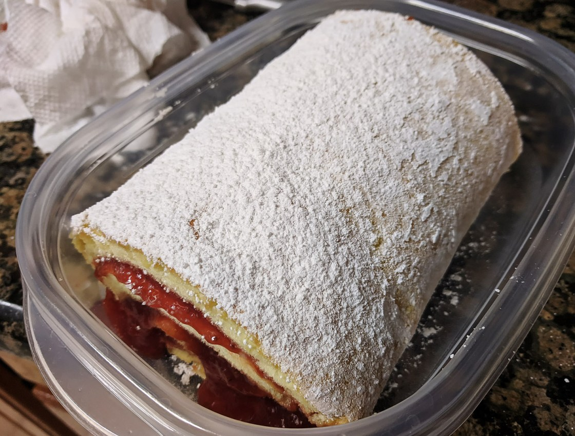 Strawberry Jelly Roll
