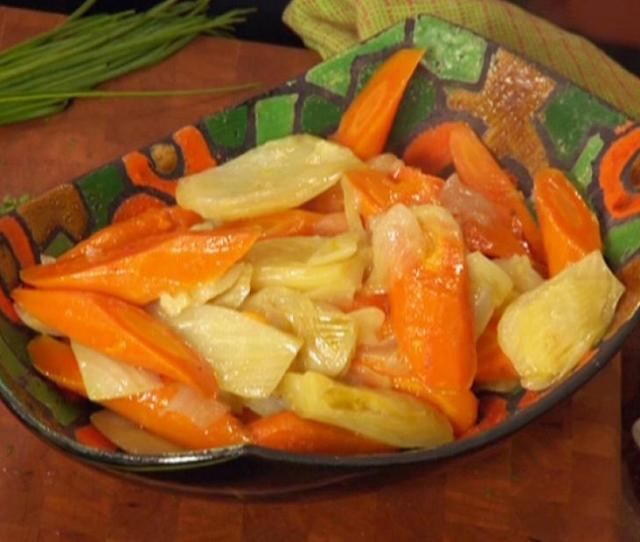 Braised Carrots And Fennel