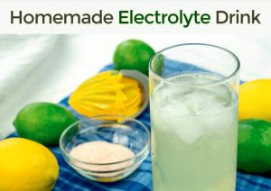Natural Homemade Electrolyte Drink