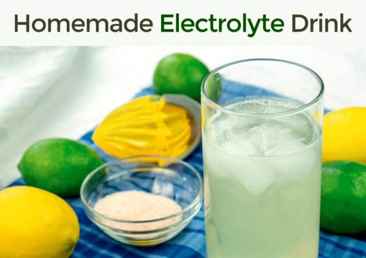 How to Make Natural Homemade Electrolyte Drink
