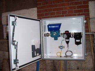 rail tank car mixing system