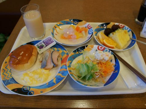 4th Day Breakfast on Hokkaido Trip