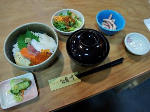 4th Day Lunch on Hokkaido Trip