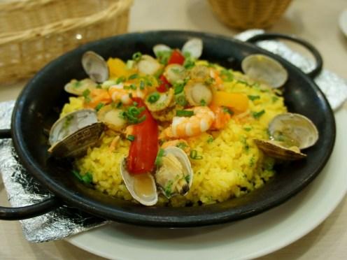 Italian Rice (Seafood Paella)