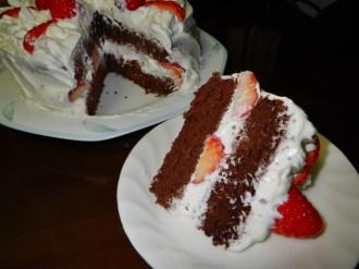 Chocolate White Cream Cake