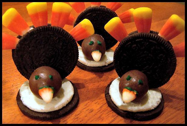 Oreo Turkeys (Thanksgiving Snack). Photo by NcMysteryShopper