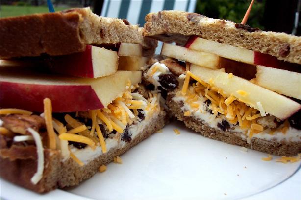 Apple Cream Dream Sandwich