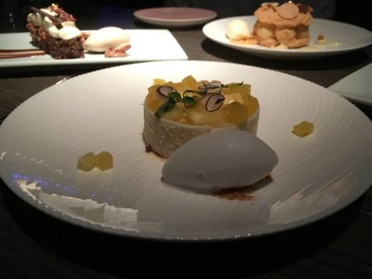 Desserts at Yauatcha