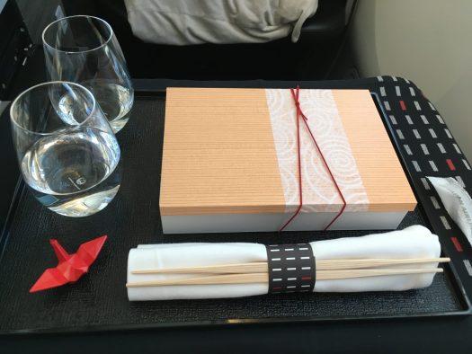 Bento box (and some sake on the side!)