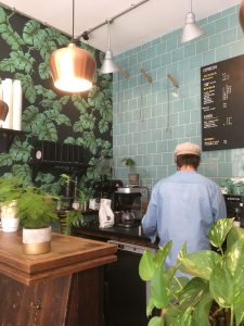 The Espresso Room in New Row, Covent Garden, London