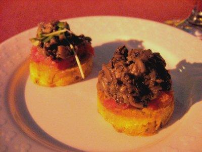 Disney's California Food & Wine Festival - Polenta Cakes
