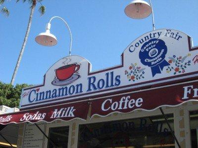 San Diego County Fair - Cinnamon Rolls Stand