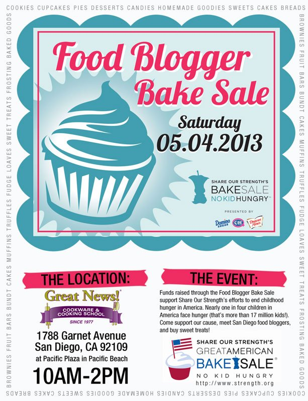 san diego food blogger\'s bake sale - pre-order goods! - This Tasty Life