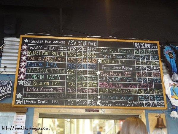 ballast-point-beer-menu