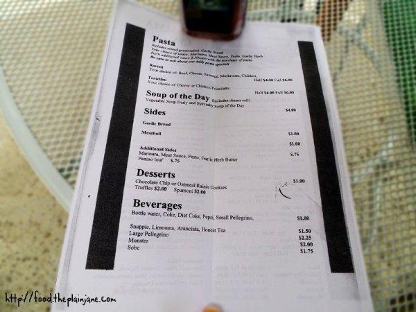 mamma lina's menu - 2