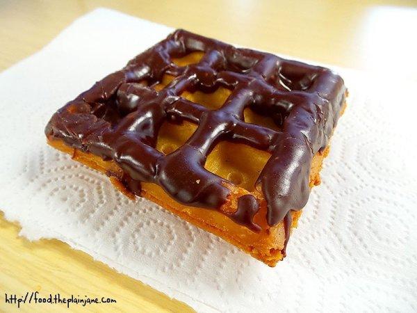 chocolate-glazed-waffle-nut-donut