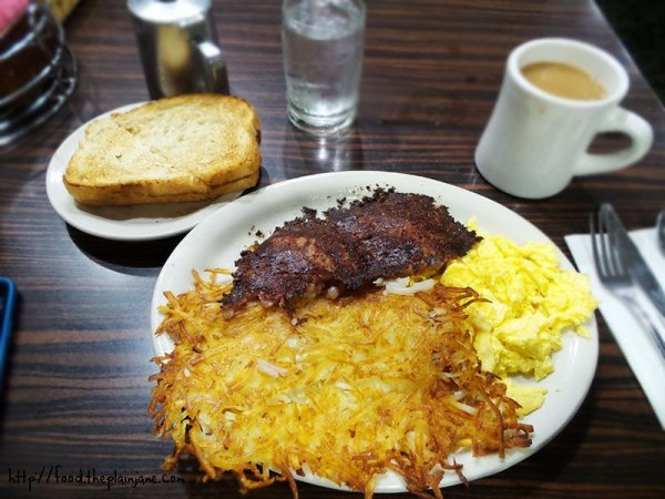 Corned Beef Hash breakfast at Perry's Cafe - San Diego, CA