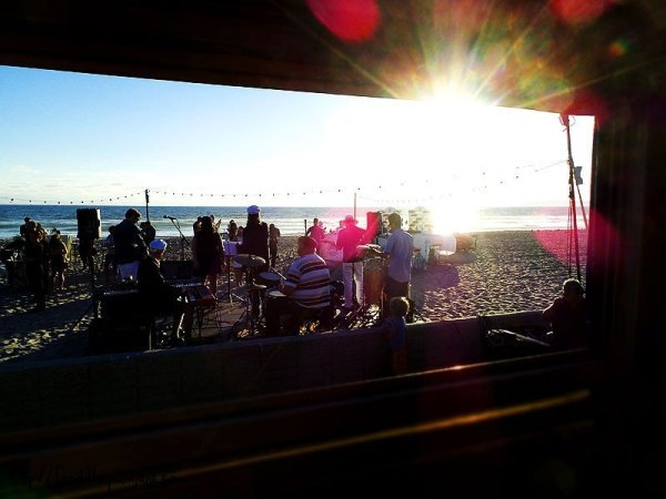 through-the-window-beach-dinner