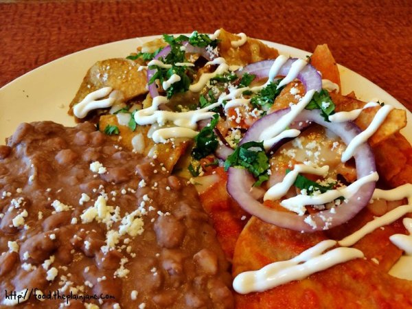 Chilaquiles at the Broken Yolk Cafe / San Diego, CA