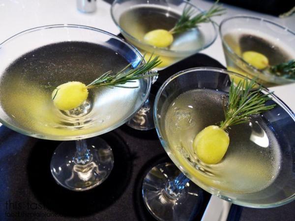 Rosemary Grape Martini / California Grapes