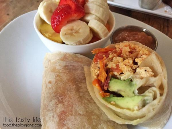 Breakfast Burrito - Cafe Cantata