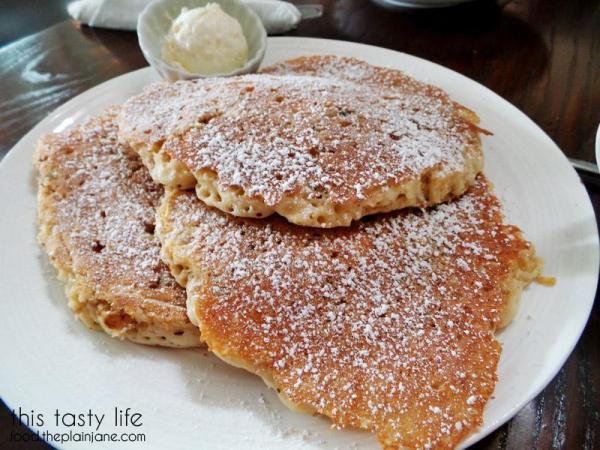 Carrot Cake Pancakes / Hanna's Gourmet - San Diego, CA