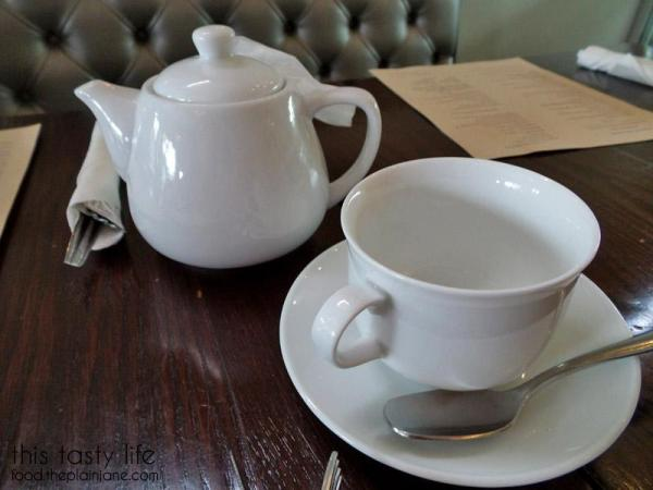 Tea Pots, Tea Cups and Squared Spoons
