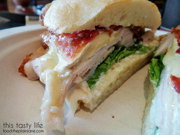 Turkey, Apple, Bacon and Brie Sandwich from Specialty's Cafe