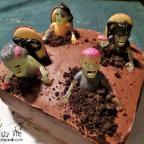 zombie cake (+daryl)