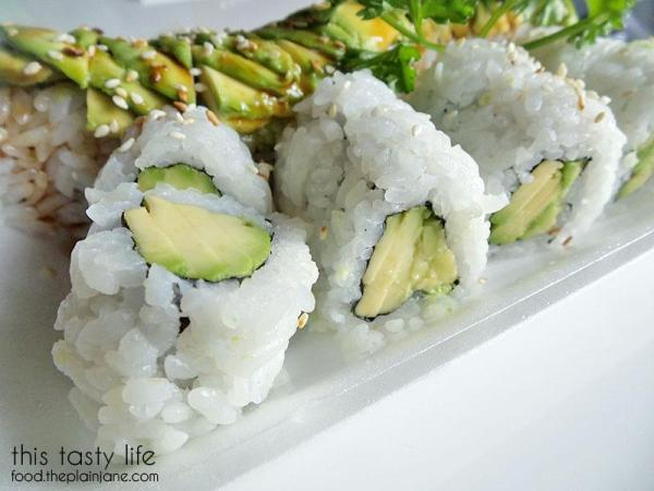 Avocado Roll - Deli Sushi and Desserts in San Diego / This Tasty Life