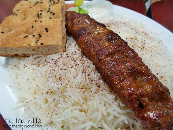 Shami Kabob at Ariana Produce and Cuisine