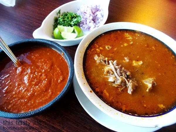 Birria de Res and all the fixings   La Palapa Nayarit - San Diego, CA   This Tasty Life