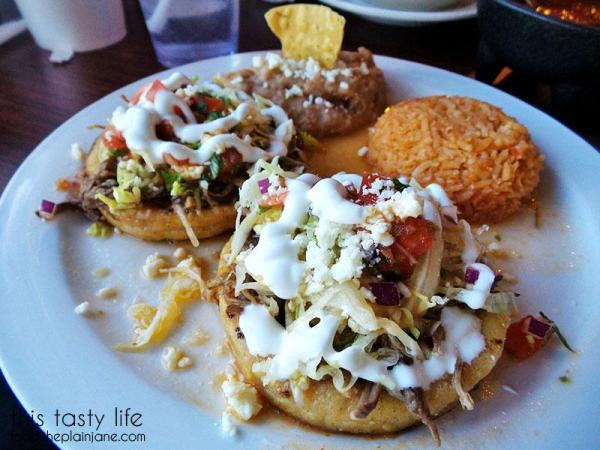 Sopes with beef | La Palapa Nayarit - San Diego, CA | This Tasty Life