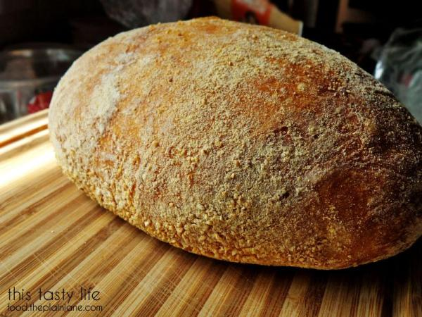 Homemade Bread Closeup