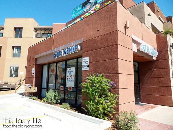 Exterior - College Sub Shop | San Diego, CA