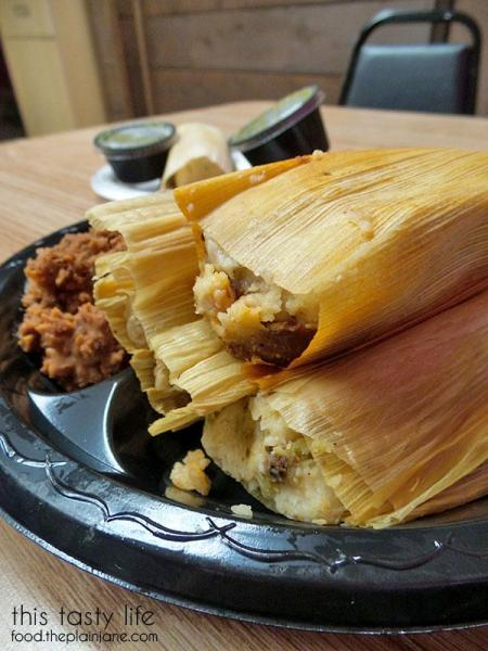 Tamales plate | This Tasty Life  - San Diego food blog