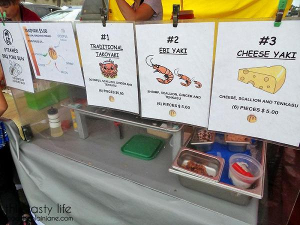 takoyaki-menu