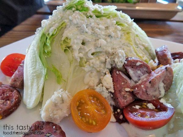 Wedge Salad Closeup - Draft Republic | San Diego, CA