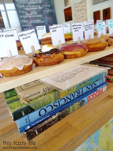 Display of Donuts at Nomad Donuts / San Diego, CA