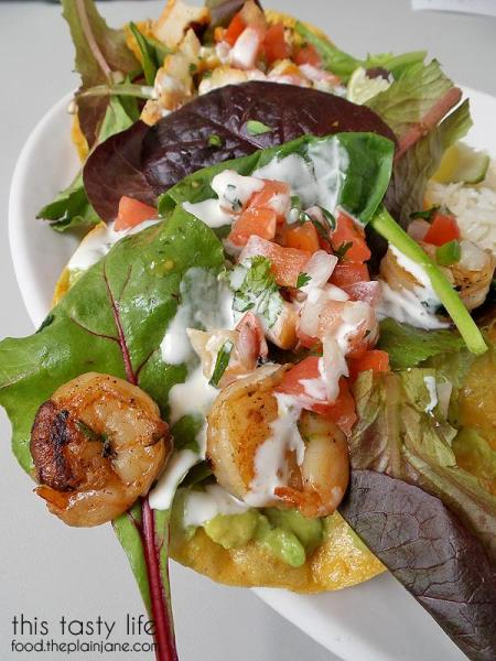 Yummy Grilled Shrimp Tostada from Rubio's