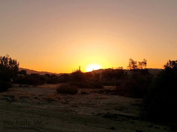 Sunrise Morongo Valley