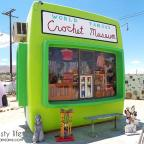 world famous crochet museum and the art queen in joshua tree, ca