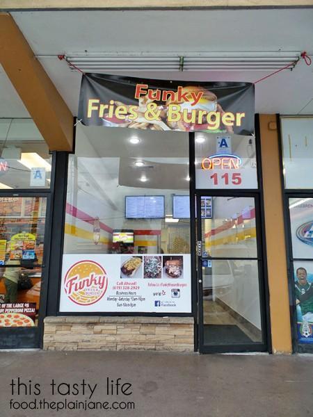 Funky Fries and Burgers in El Cajon