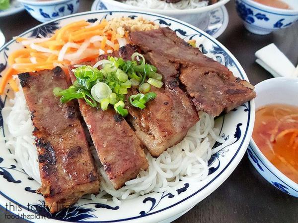 Grilled pork closeup | Pho Hung Cali - Chula Vista, CA